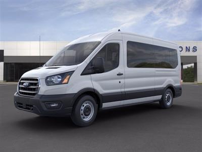 2020 Ford Transit 350 Med Roof 4x2, Passenger Wagon #L2004 - photo 1