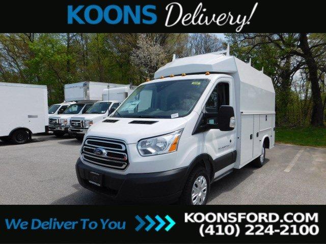 2019 Ford Transit 350 4x2, Knapheide Service Utility Van #K1621 - photo 1