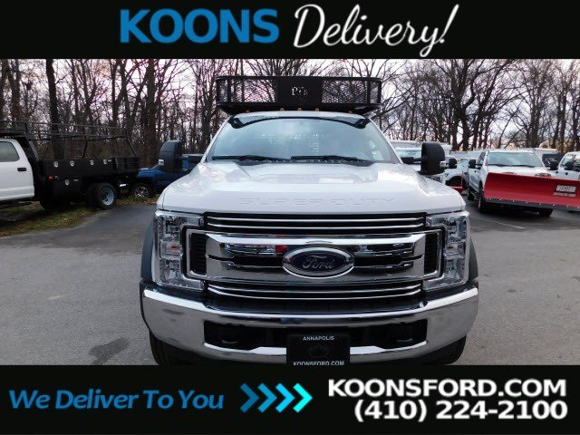 2019 Ford F-550 Crew Cab DRW RWD, PJ's Contractor Body #K2263 - photo 4