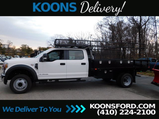 2019 Ford F-550 Crew Cab DRW RWD, PJ's Contractor Body #K2263 - photo 5