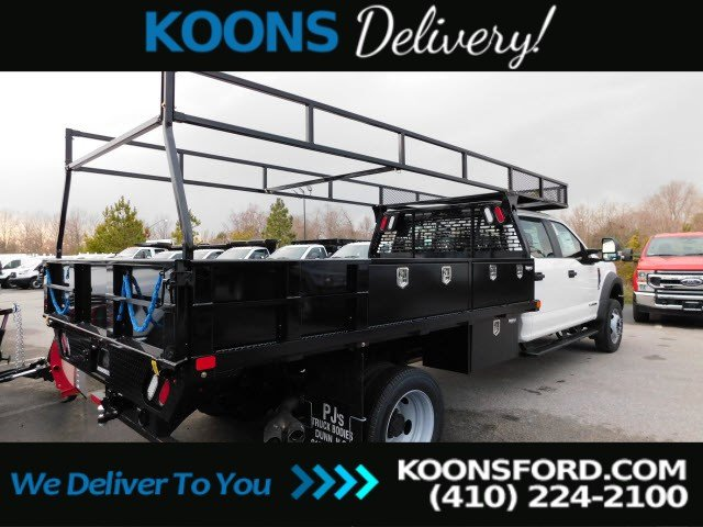 2019 Ford F-550 Crew Cab DRW 4x2, PJ's Contractor Body #K2263 - photo 1