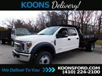 2019 Ford F-550 Crew Cab DRW RWD, PJ's Contractor Body #K2263 - photo 3