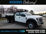 2019 Ford F-550 Crew Cab DRW RWD, PJ's Contractor Body #K2263 - photo 1