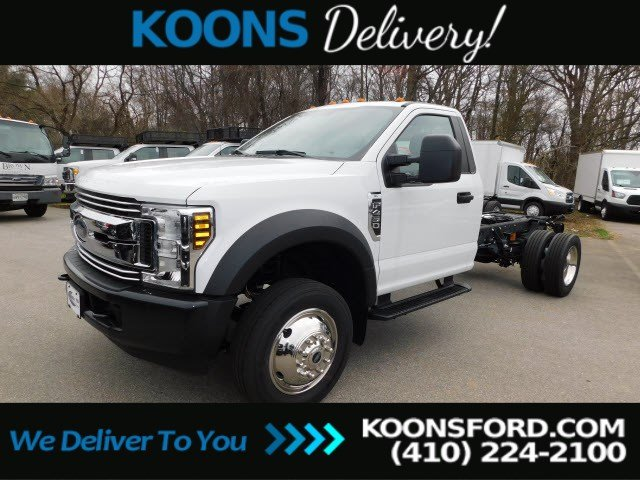 2019 F-450 Regular Cab DRW 4x2, Cab Chassis #K2272 - photo 1