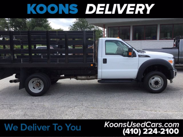 2016 Ford F-450 Regular Cab DRW RWD, Stake Bed #K2298A - photo 5