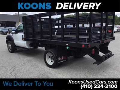 2016 Ford F-450 Regular Cab DRW RWD, Stake Bed #K2298A - photo 2