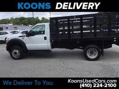 2016 Ford F-450 Regular Cab DRW RWD, Stake Bed #K2298A - photo 8