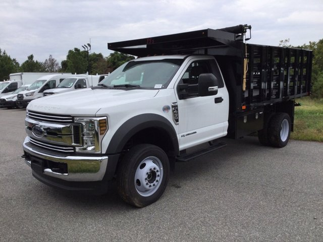 2019 Ford F-450 Regular Cab DRW 4x4, PJ's Stake Bed #K2302 - photo 1