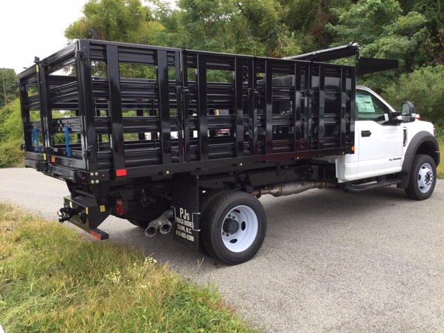 2019 Ford F-450 Regular Cab DRW 4x4, PJ's Platform Body #K2302 - photo 6