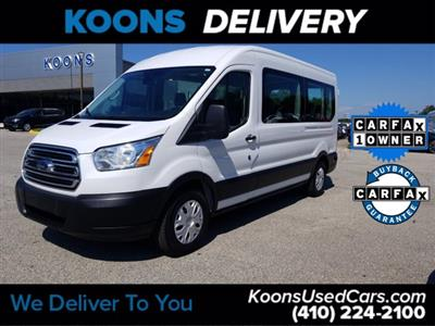 2019 Ford Transit 350 Med Roof RWD, Passenger Wagon #K2577Y - photo 1