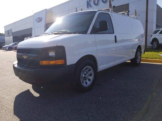 2013 Chevrolet Express 1500 RWD, Upfitted Cargo Van #K2627Z - photo 1