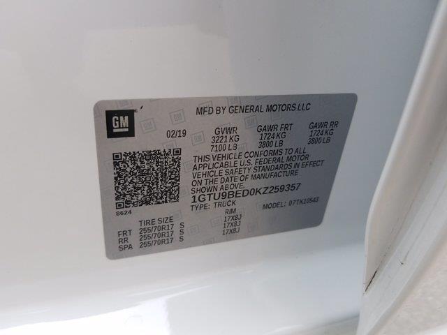 2019 GMC Sierra 1500 Crew Cab 4x4, Pickup #K2758Z - photo 20