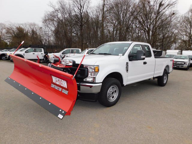 2020 Ford F-350 Super Cab 4x4, Western Snowplow Pickup #L1236 - photo 1