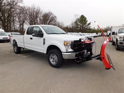2020 Ford F-350 Super Cab 4x4, Western Snowplow Pickup #L1236 - photo 4