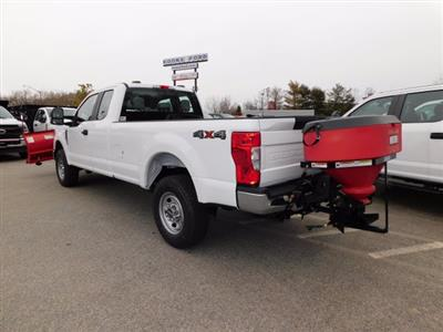 2020 Ford F-350 Super Cab 4x4, Western Snowplow Pickup #L1236 - photo 2
