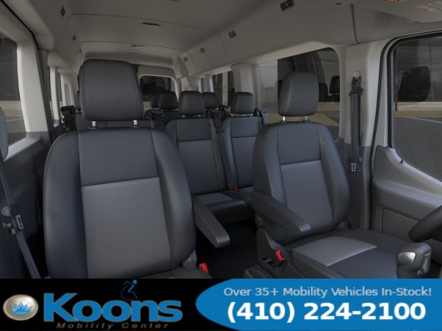 2020 Ford Transit 350 Med Roof 4x2, Passenger Wagon #L1274 - photo 10