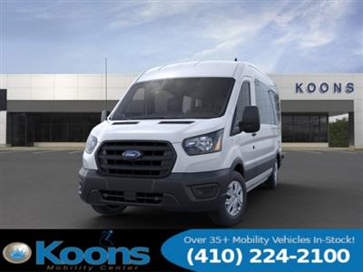 2020 Ford Transit 350 Med Roof RWD, Passenger Wagon #L1275 - photo 3
