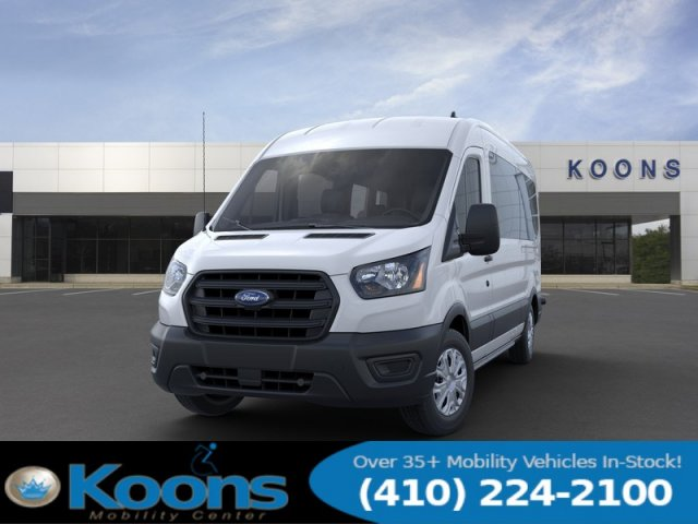 2020 Ford Transit 350 Med Roof RWD, Passenger Wagon #L1277 - photo 3