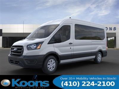 2020 Ford Transit 350 Med Roof RWD, Passenger Wagon #L1277 - photo 1