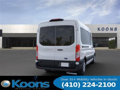 2020 Ford Transit 350 Med Roof RWD, Passenger Wagon #L1277 - photo 8