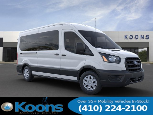 2020 Ford Transit 350 Med Roof RWD, Passenger Wagon #L1279 - photo 7