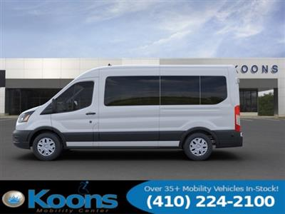 2020 Ford Transit 350 Med Roof RWD, Passenger Wagon #L1279 - photo 4