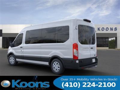 2020 Ford Transit 350 Med Roof 4x2, Passenger Wagon #L1280 - photo 2