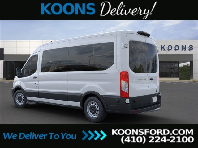 2020 Ford Transit 350 Med Roof RWD, Passenger Wagon #L1301 - photo 1