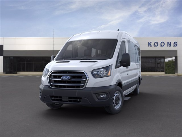 2020 Ford Transit 350 Med Roof RWD, Passenger Wagon #L1332 - photo 3