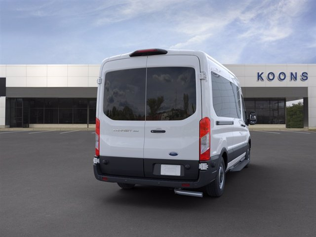 2020 Ford Transit 350 Med Roof RWD, Passenger Wagon #L1332 - photo 8