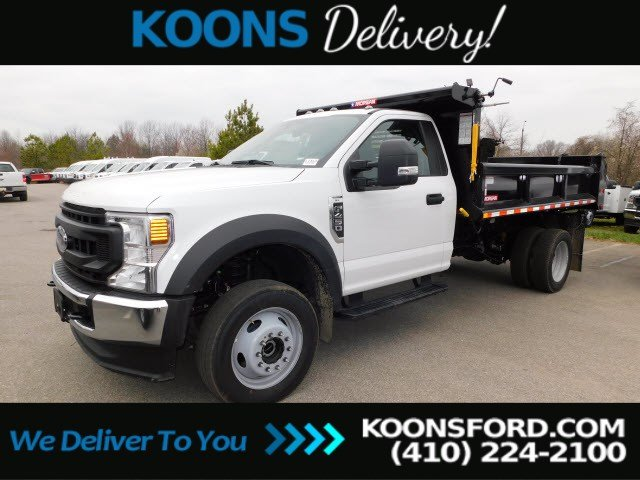 2020 Ford F-450 Regular Cab DRW 4x4, Morgan Dump Body #L1413 - photo 1