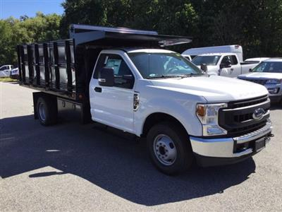2020 Ford F-350 Regular Cab DRW 4x2, Rugby Landscape Dump #L1455 - photo 4