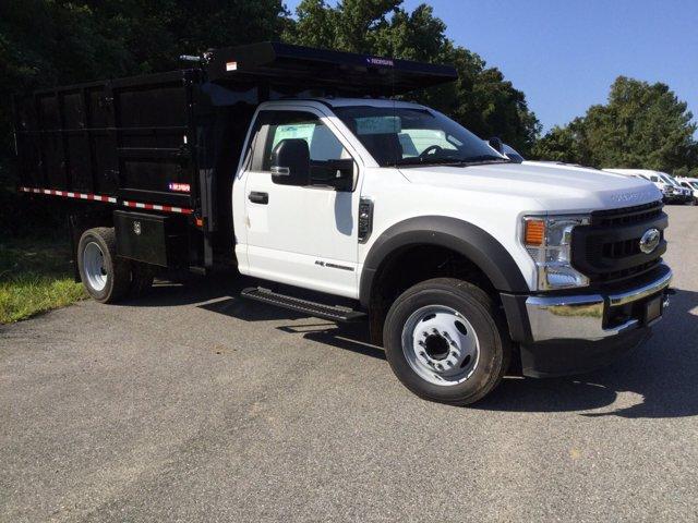 2020 Ford F-450 Regular Cab DRW 4x2, Morgan Landscape Dump #L1535 - photo 4