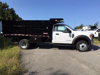 2020 Ford F-450 Regular Cab DRW RWD, Morgan Landscape Dump #L1535 - photo 5