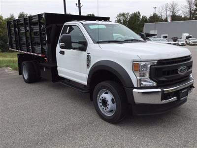 2020 Ford F-450 Regular Cab DRW RWD, Morgan Prostake Stake Bed #L1559 - photo 4