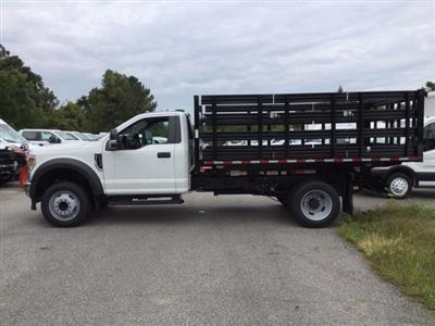 2020 Ford F-450 Regular Cab DRW RWD, Morgan Prostake Stake Bed #L1559 - photo 8