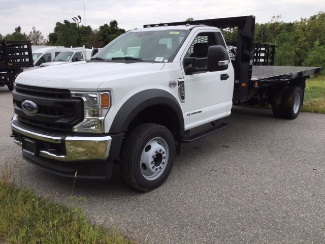 2020 Ford F-550 Regular Cab DRW RWD, Knapheide Platform Body #L1614 - photo 1