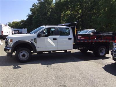2020 Ford F-450 Crew Cab DRW 4x2, Morgan Dump Body #L1776 - photo 2
