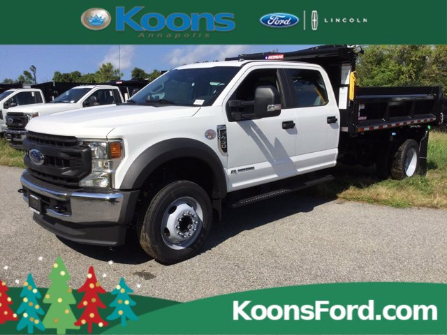2020 Ford F-450 Crew Cab DRW RWD, Dump Body #L1777 - photo 1