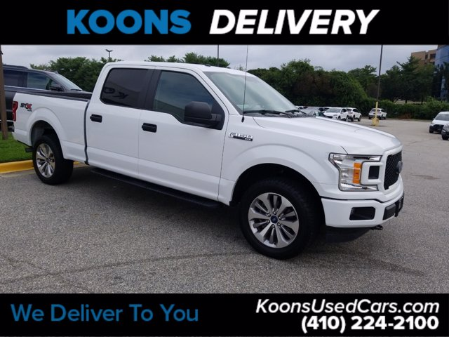 2018 Ford F-150 SuperCrew Cab 4x4, Pickup #L1787A - photo 4