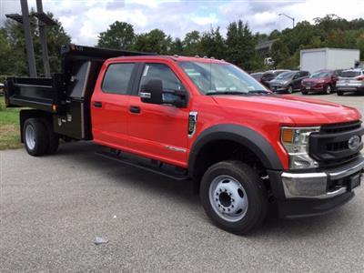 2020 Ford F-550 Crew Cab DRW RWD, Galion 100U Dump Body #L1799 - photo 4