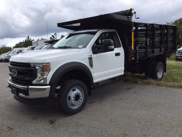 2020 Ford F-450 Regular Cab DRW RWD, PJ's Stake Bed #L1866 - photo 1
