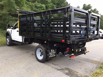 2020 Ford F-450 Regular Cab DRW RWD, PJ's Stake Bed #L1866 - photo 2