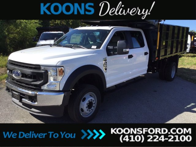 2020 Ford F-450 Crew Cab DRW RWD, Landscape Dump #L1907 - photo 1