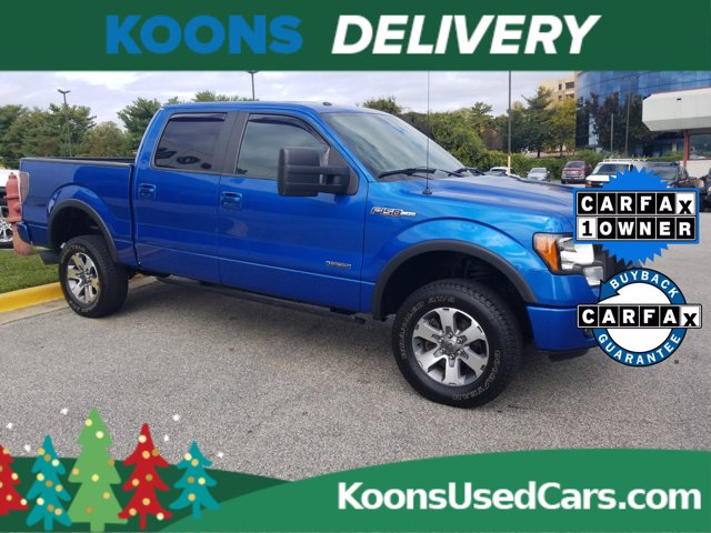 2013 Ford F-150 SuperCrew Cab 4x4, Pickup #L1927Z - photo 4