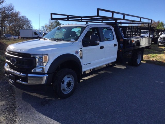 2020 Ford F-550 Crew Cab DRW 4x2, Contractor Body #L2009 - photo 1