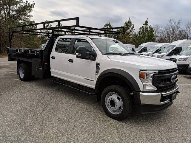 2020 Ford F-550 Crew Cab DRW 4x2, Contractor Body #L2056 - photo 4