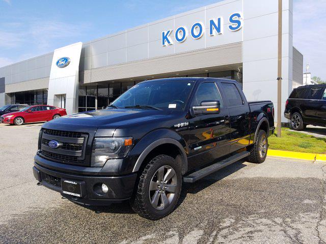 2014 Ford F-150 SuperCrew Cab 4x4, Pickup #M1032A - photo 1