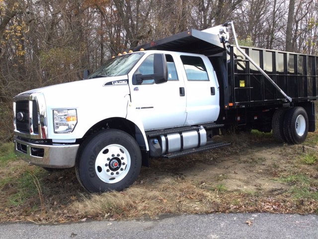 2021 Ford F-750 Crew Cab DRW 4x2, Landscape Dump #M1041 - photo 1