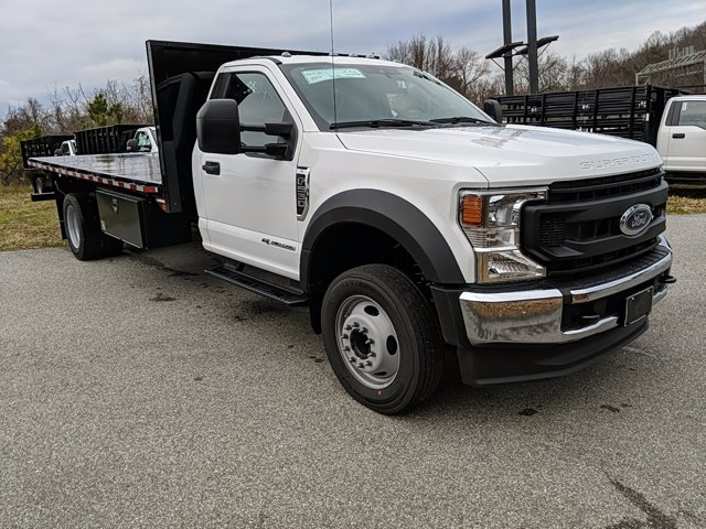 2021 Ford F-550 Regular Cab DRW 4x2, Platform Body #M1105 - photo 4